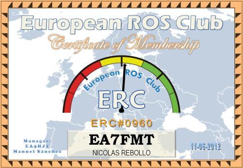 certificado ERC