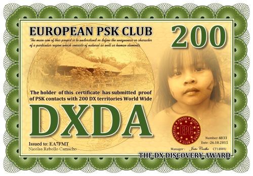DXDA-200 DIPLOMA