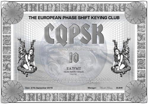 EA7FMT-CQPSK-10 DIPLOMA