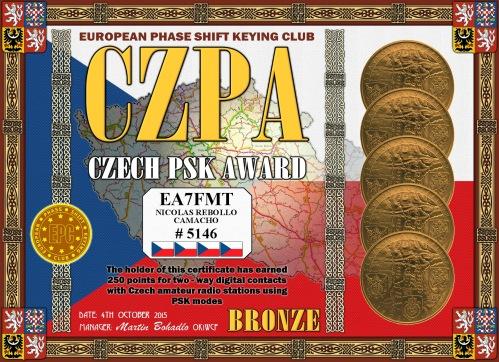 EA7FMT-CZPA-BRONZE DIPLOMA
