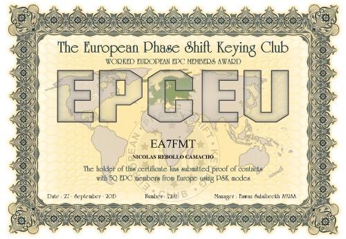 EA7FMT-EPCMA-EPCEU DIPLOMA