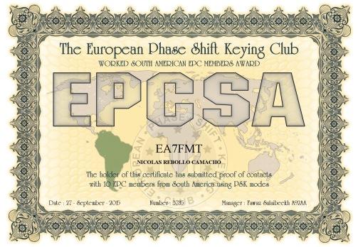 EA7FMT-EPCMA-EPCSA DIPLOMA