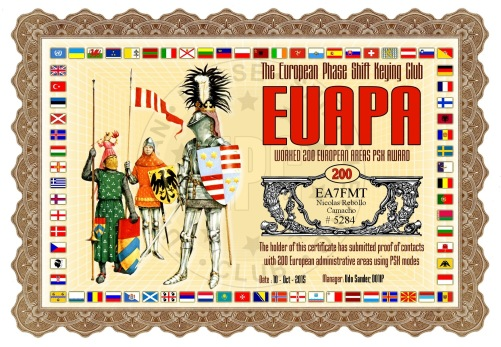 EA7FMT-EUAPA-200 DIPLOMA