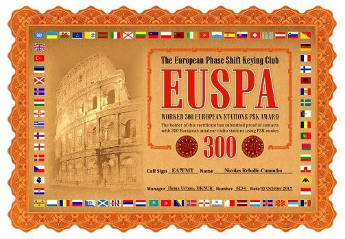 EA7FMT-EUSPA-300 DIPLOMA