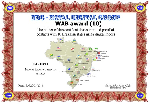 NDG WAB-10 DIPLOMA