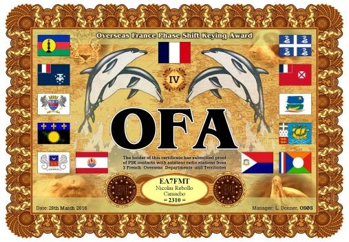 OFA-IV DIPLOMA