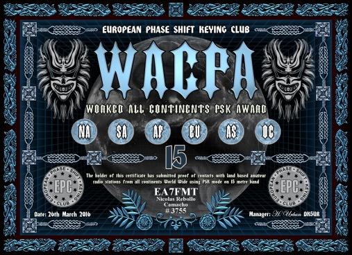 WACPA-15M DIPLOMA