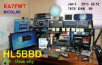 HL5BBD Corea del Sur