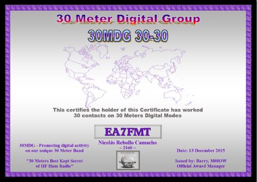 30MDG 30-30.