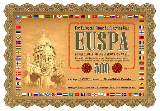 EUSPA-500 DIPLOMA
