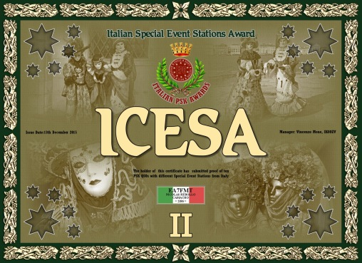 ICESA-II DIPLOMA