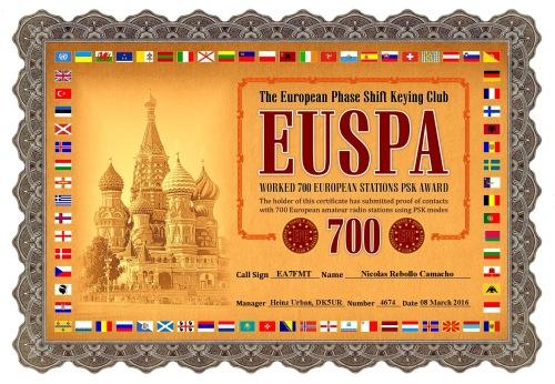 EUSPA-700 DIPLOMA