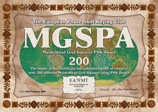 MGSPA-200 DIPLOMA x
