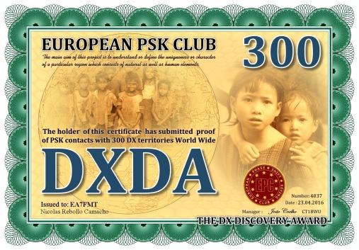 DXDA-300 DIPLOMA