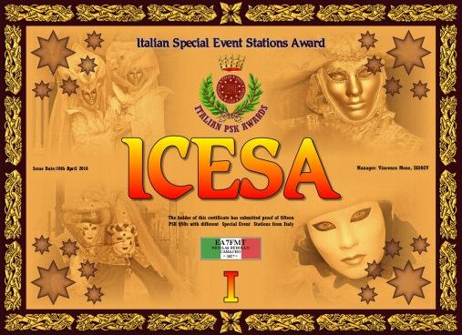 ICESA-I DIPLOMA