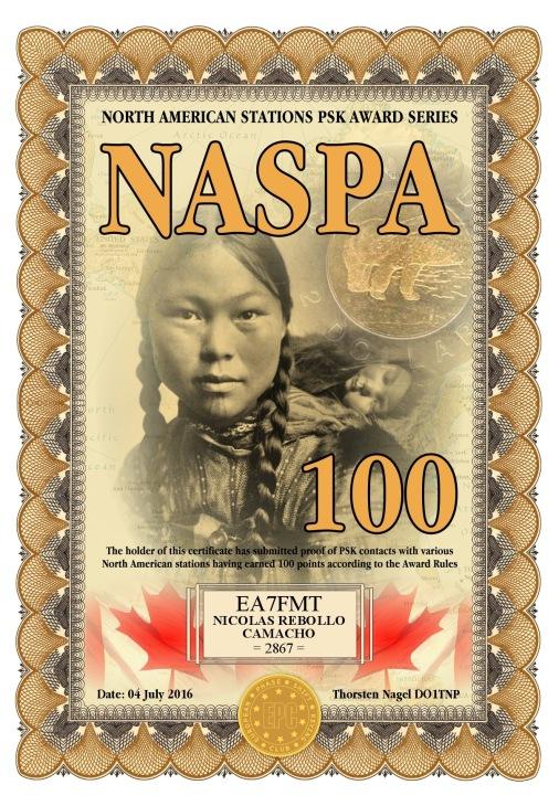 NASPA-100 DIPLOMA
