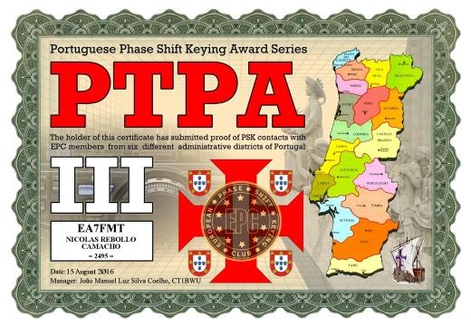 PTPA-III DIPLOMA