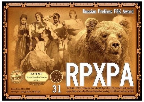 RPXPA-31 DIPLOMA