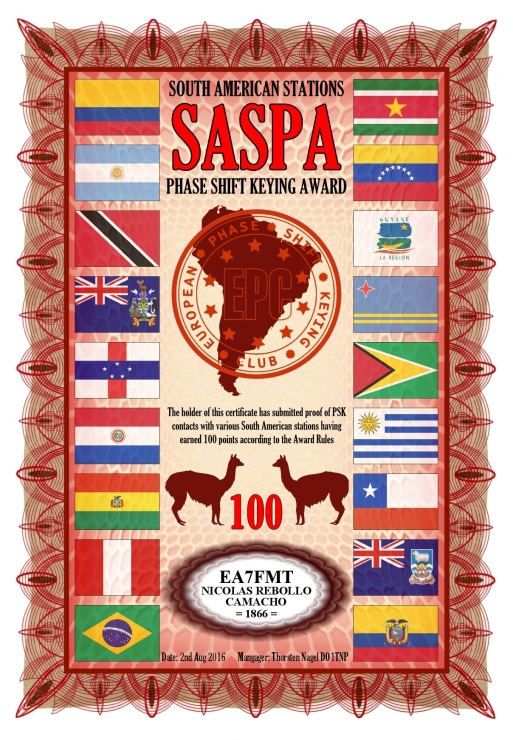 SASPA-100-2 DIPLOMA