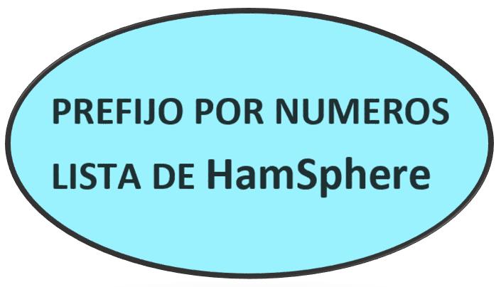 LISTA DE PREFIJO POR NUMEROS HAMSPHERE