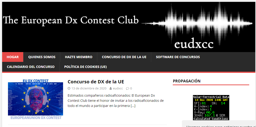 EUDXCC - THE EUROPEAN DX CONTEST CLUB (EUROPA DX Y CONCURSOS)
